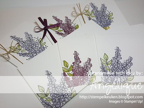 de Stempelkeuken Stampin'Up! producten koopt u bij de Stempelkeuken http://stempelkeuken.blogspot.com #stempelkeuken #stampinup #stampinupnl #stamping #stempelen #lotsoflavender #lavender #freshfig #oldolive #thread #ribbon #proficiat #voorjou #bestewensen #cards #diy #handmade #cardmaking #papercrafting #creative #creatief #kreativ #saleabration #saleabration2018 #narrowcardsandevelopes #denhaag #thehague #westland