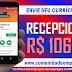 RECEPCIONISTA COM REMUNERAÇÃO DE R$ 1064,00 PARA EMPRESA DE SAÚDE