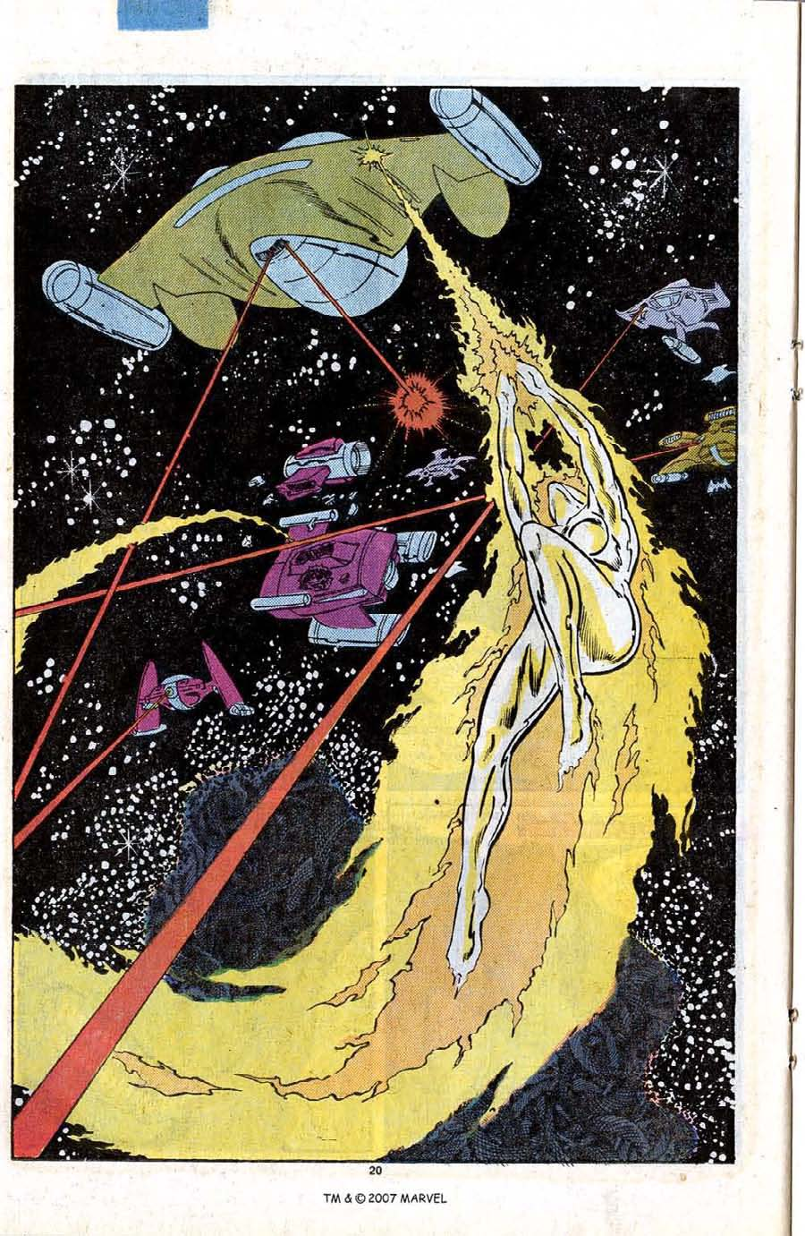 Read online Silver Surfer (1987) comic -  Issue #12 - 22
