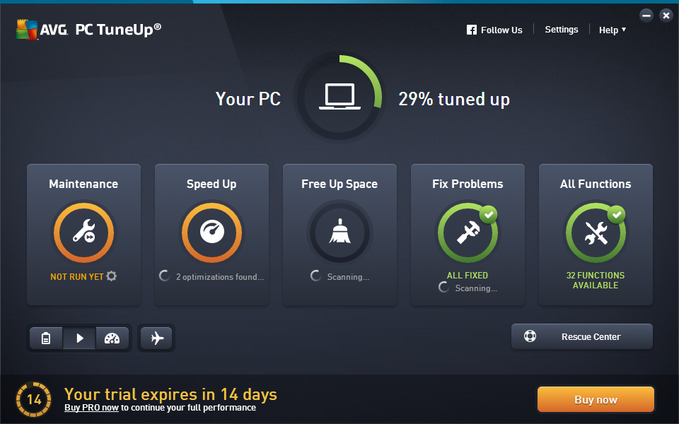 download avg pc tuneup 2016 + serial