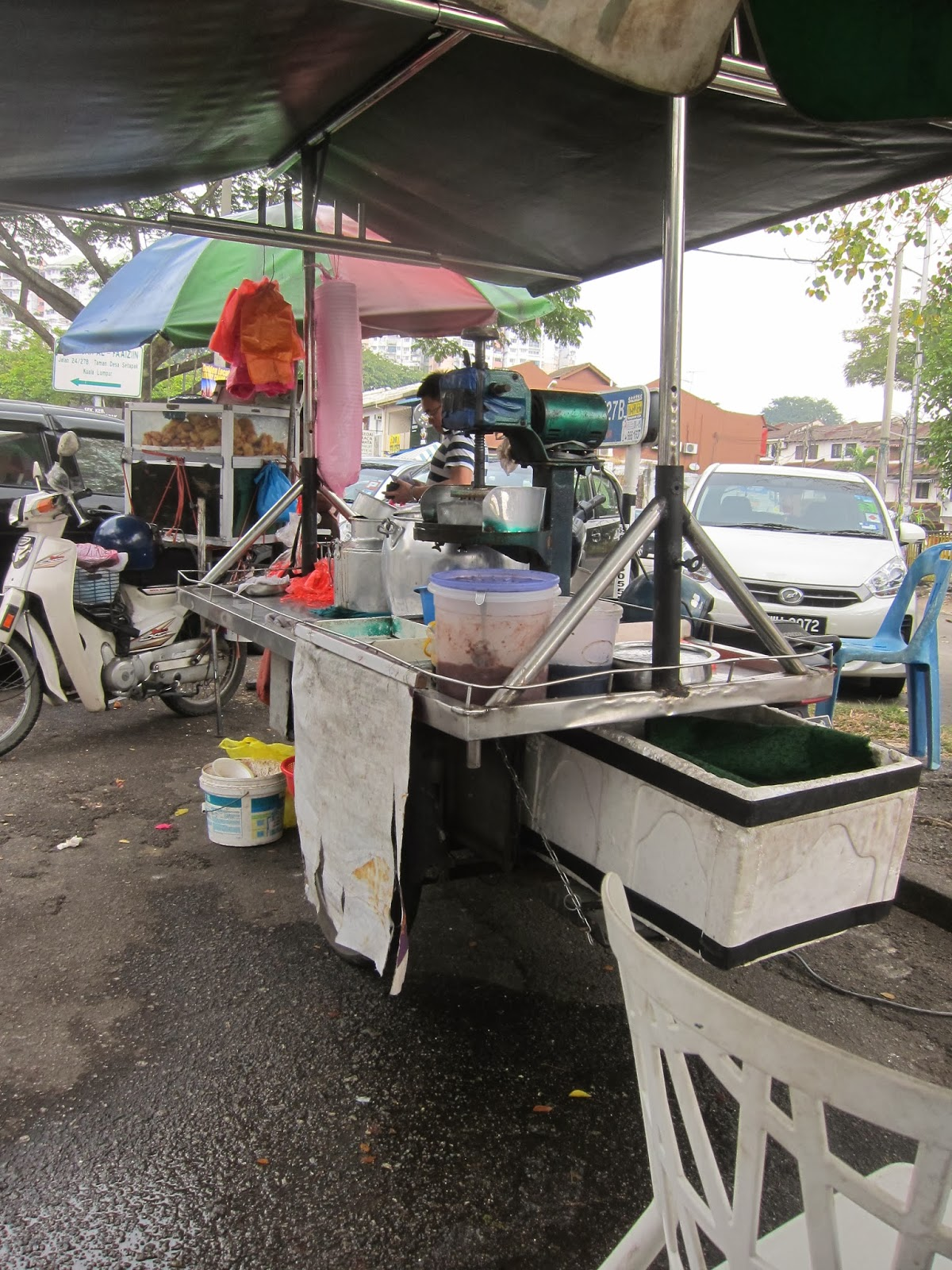 The Cendol Stall at Wangsa Maju