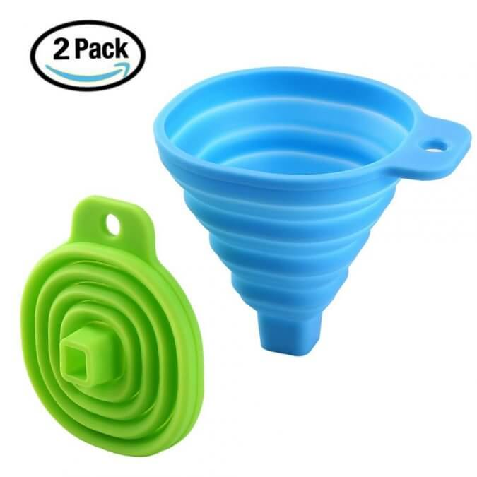 29 Life-Saving Kitchen Inventions We Wished We Had In Our Own House - Collapsible Funnel Set