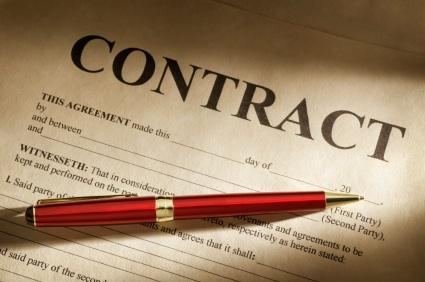 Ketentuan Umum Hukum Kontrak