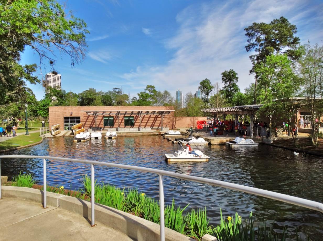 houston in pics pedal boat rental at hermann park mcgovern lake. Black Bedroom Furniture Sets. Home Design Ideas