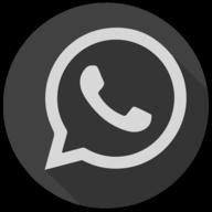 whatsapp blackout icon