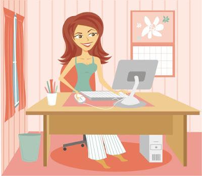 Aktifitas Harian Bisnis Rumahan Online