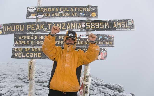 Hike to the top of Kilimanjaro