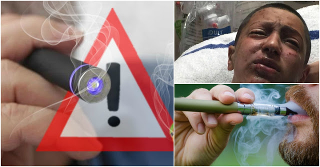 Ngeri !! Rokok Electrik Ternyata Lebih Berbahaya dari Rokok Biasa.. 10 Kali Hisapan Sudah Bikin Jantung Kamu Rusak !!