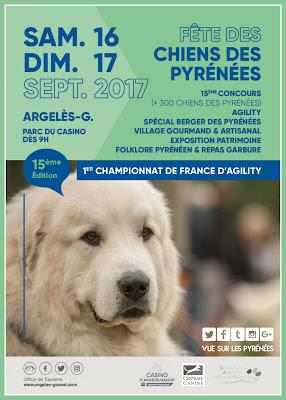Argelès-Gazost : Fête des chiens des Pyrénées 2017