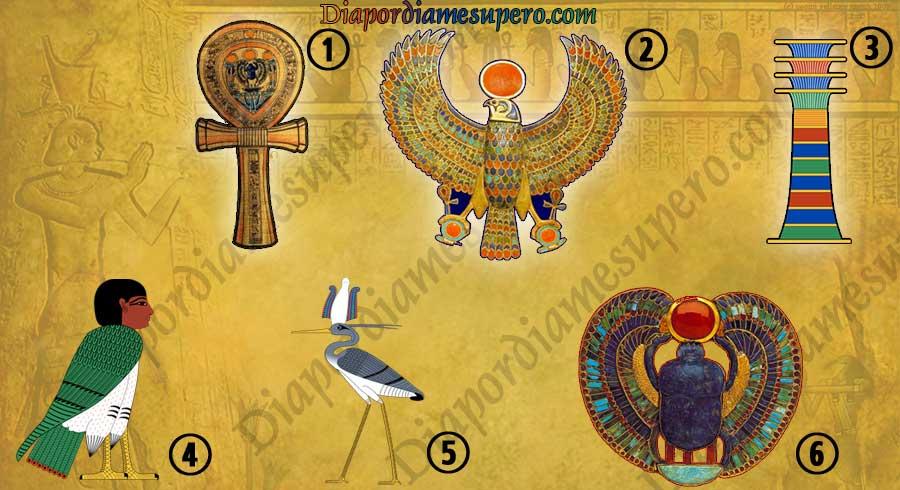 Test: Escoge el  jeroglífico egipcio antiguo y descubre qué dice de ti