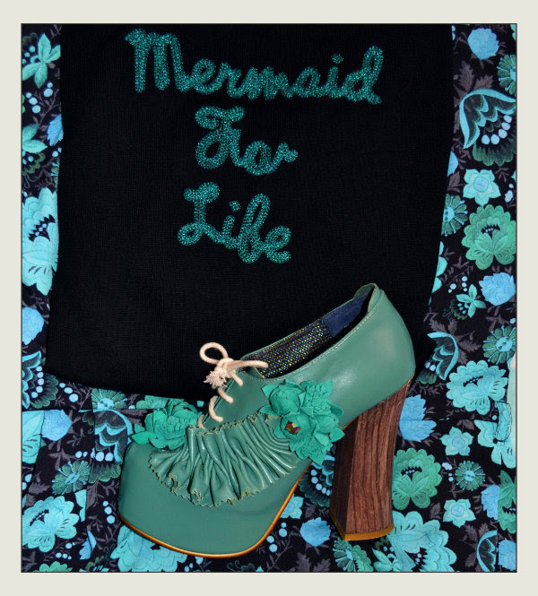 iron fist mermaid for life cardigan and irregular choice petrisha shoes