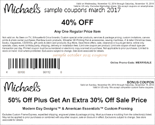 Michaels coupons for march 2017
