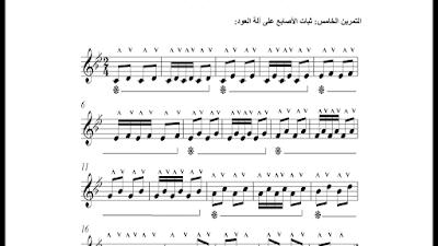 تحميل كتاب pdf تمارين مقترحه للتغلب على صعوبات العزف على آلة العود لدى الطلبة المبتدئين