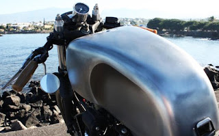 tropical sportster cafe racer tank