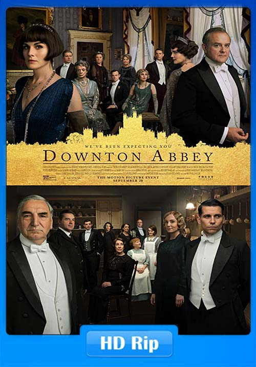 Downton Abbey 2019 720p WEBRip x264 | 480p 300MB | 100MB HEVC