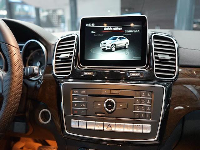 Mercedes GLE 400 4MATIC Coupe sử dụng Màn hình màu TFT 8 Inch