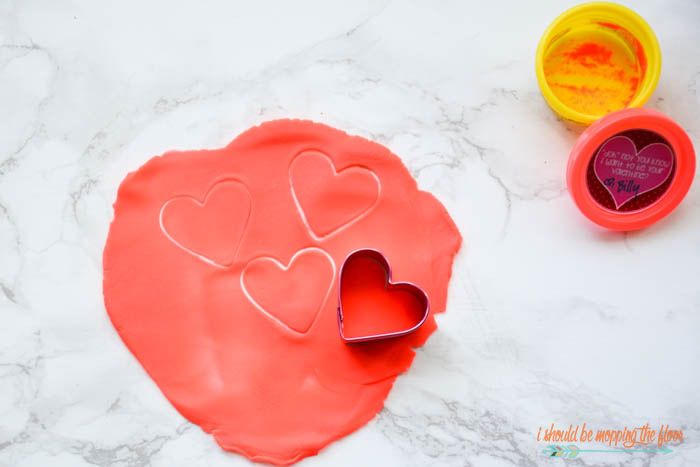 Valentines for Play-Doh