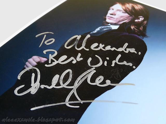 Domhnall Gleeson - Autograf - Autograph