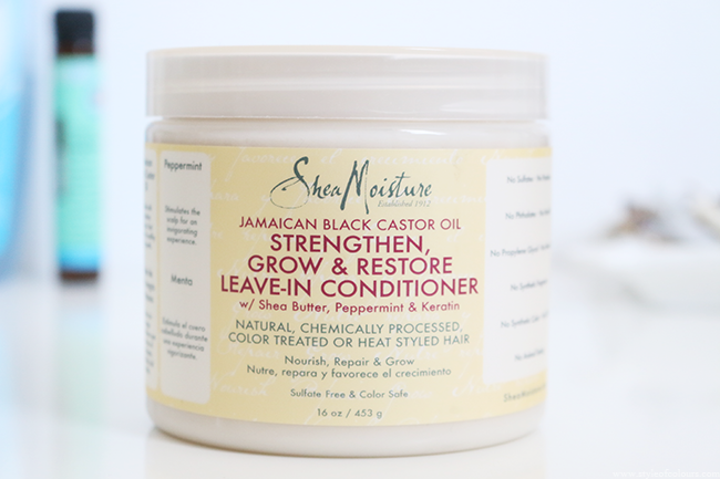 SheaMoisture Jamaican Black Castor Oil Leave-in Conditioner