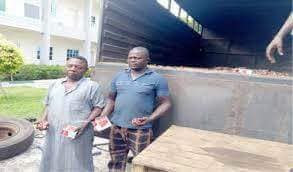 Nigerian Custom Arrests Two Men With 200,000 Live Bullets