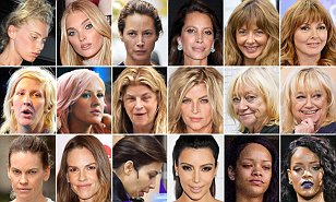 Amazing celebrities without makeup