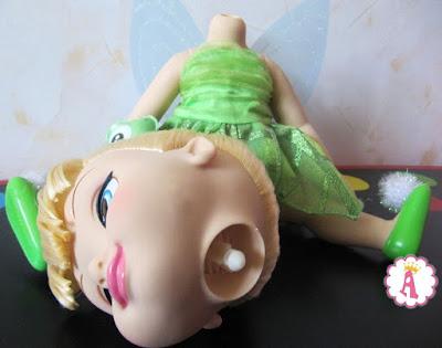 Поломался крепеж у головы диснеевской игрушки Динь