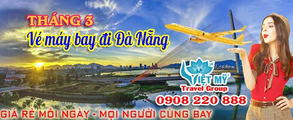 Vé máy bay giá rẻ đi Đà Nẵng tháng 3