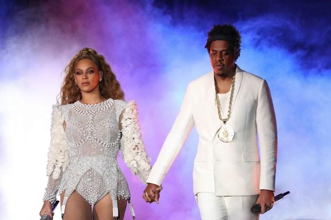 Ring The Alarm! Susto na OTRII: rapaz dribla segurança e corre em direção de Beyoncé e Jay-Z