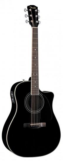 Bán Đàn Guitar Acoustic Fender CD-140SCE BK
