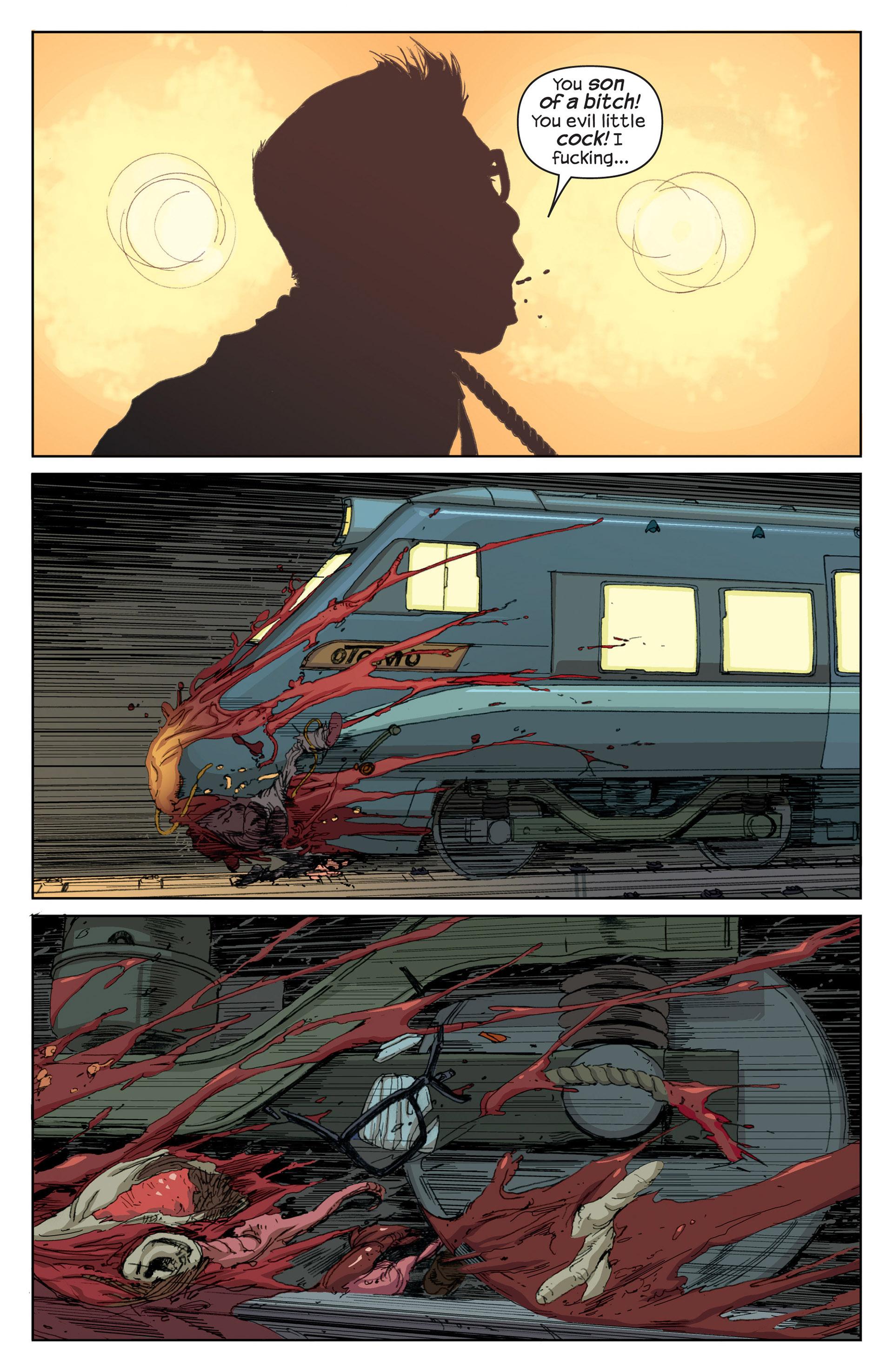 Read online Millar & McNiven's Nemesis comic -  Issue #1 - 9