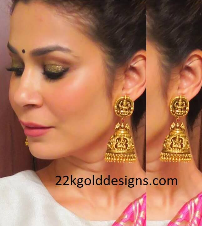 Traditional Nakshi Jhumkas
