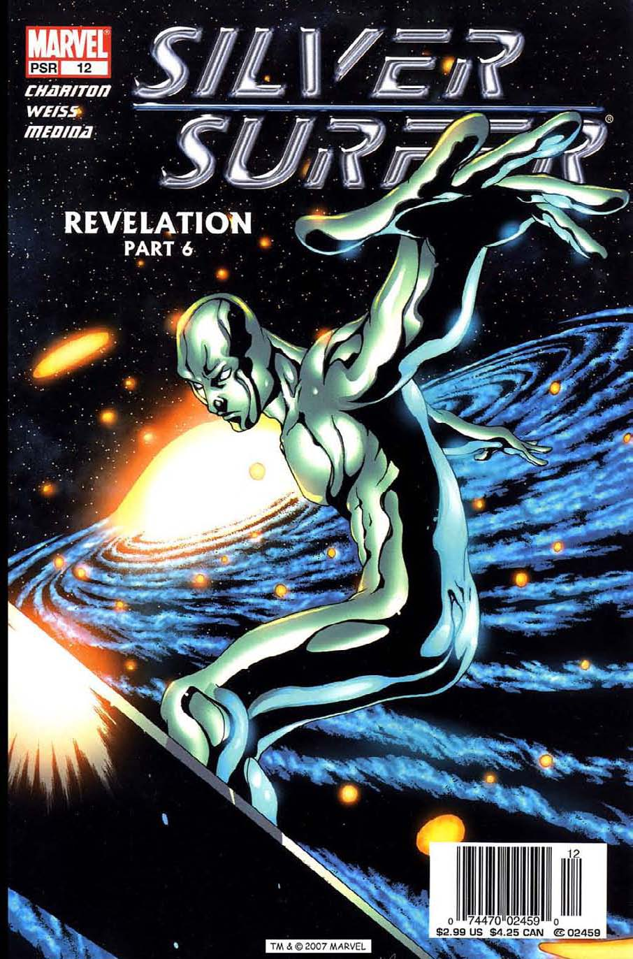 Read online Silver Surfer (2003) comic -  Issue #12 - 1