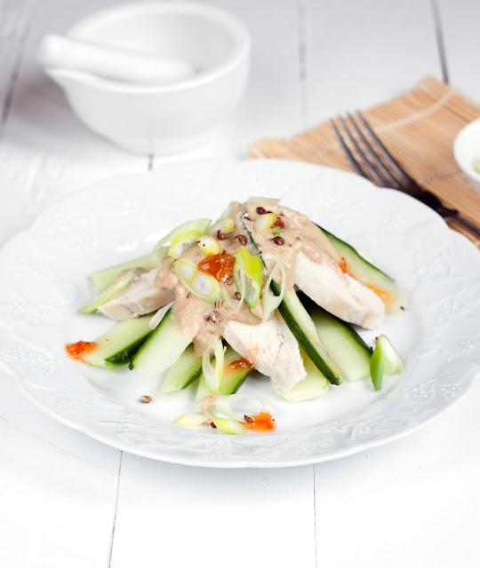 sałatka tajska