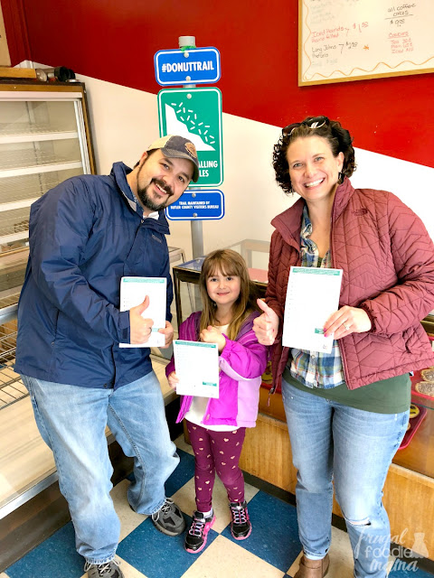 Once you have conquered the Butler County Donut Trail in Ohio, be sure to get a pic with your completed passports!