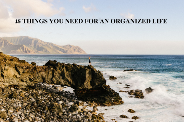 how to be more organized in life and suceed