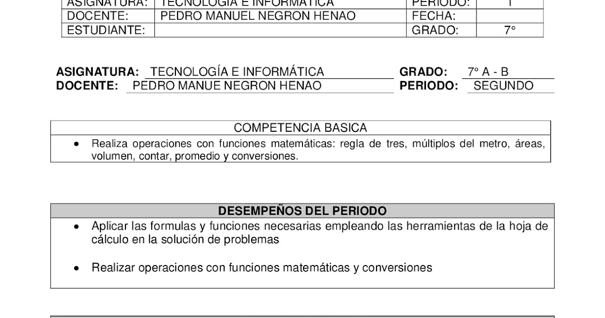Hermosa 7º Grado Problemas De Hoja De Cálculo Colección - hojas de ...