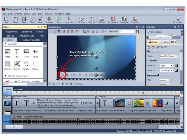 Aquasoft Slideshow Premium Free Download