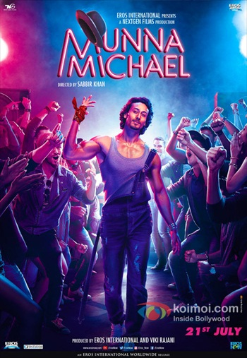 Munna Michael 2017 Hindi 720p DVDRip 999mb