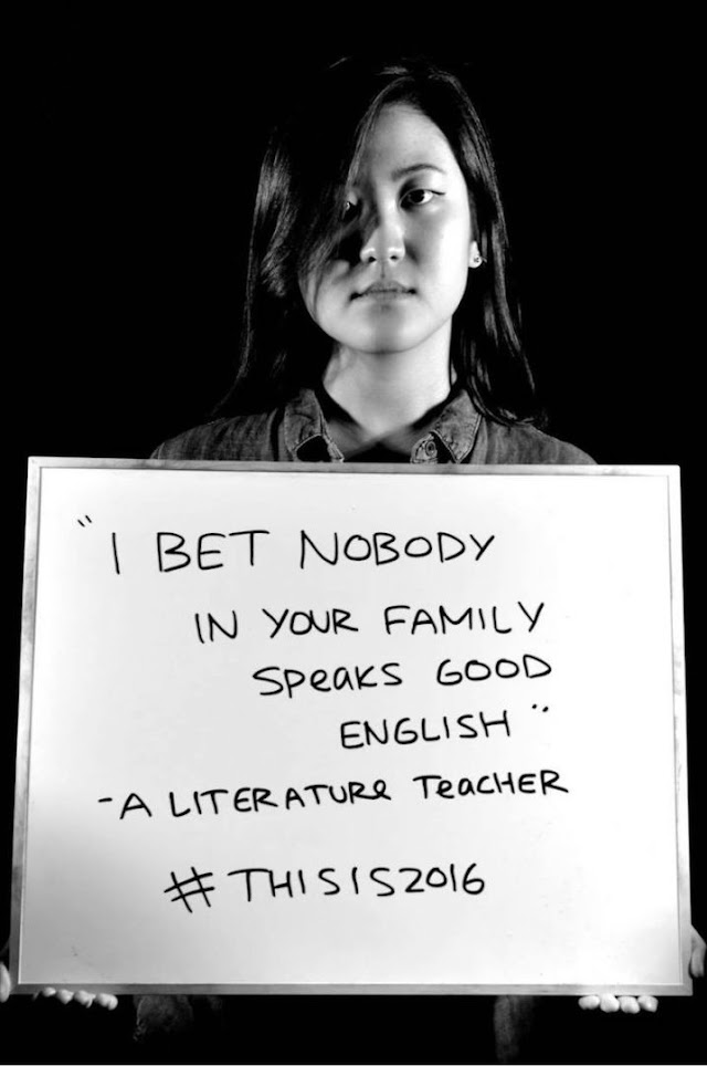 An Asian student society responds to racism with a riveting photo series