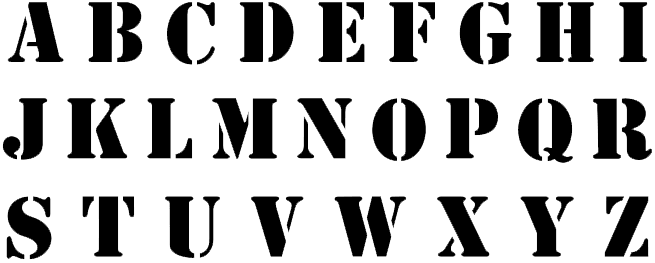 brush-stroke-font