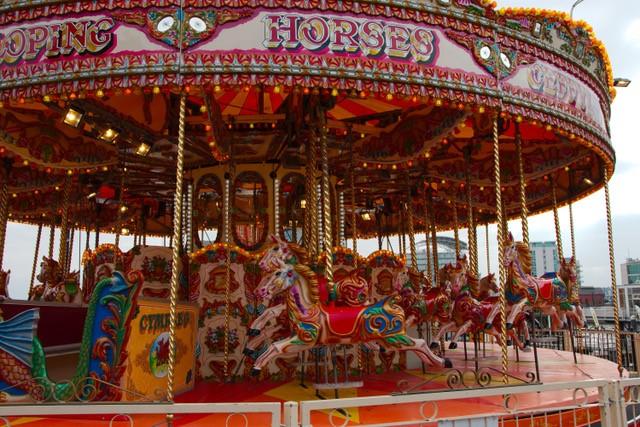 Carousel at St Davids Hall!!