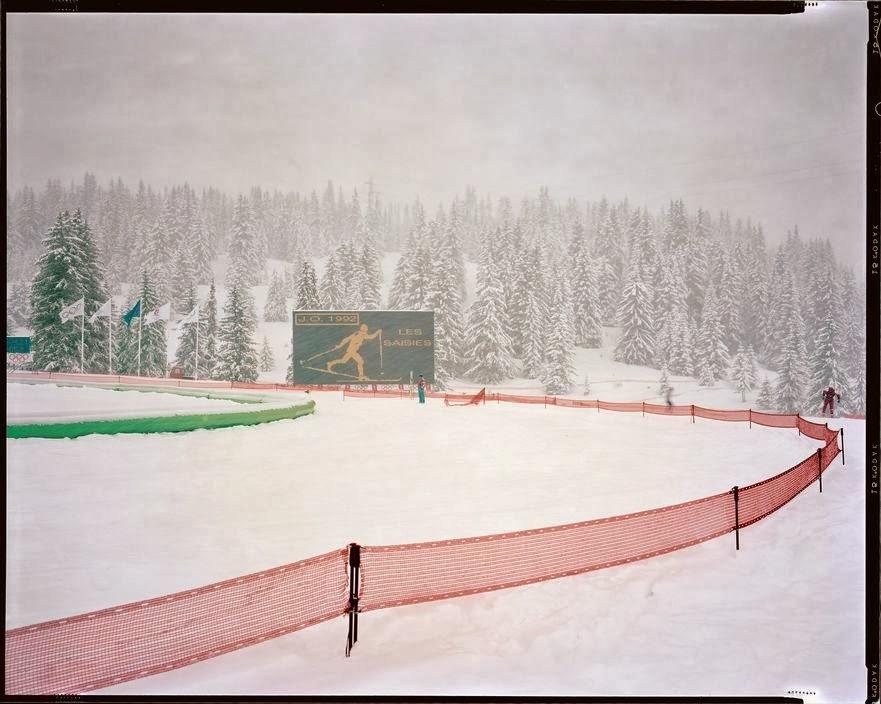 Raymond Depardon Les Saisies, 1992 Olympic Games, Albertville, France