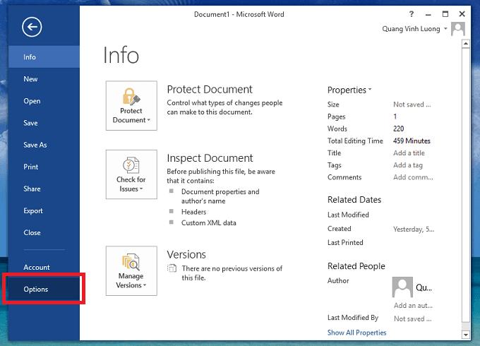 Cách tắt Mini Toolbar trong Microsoft Word