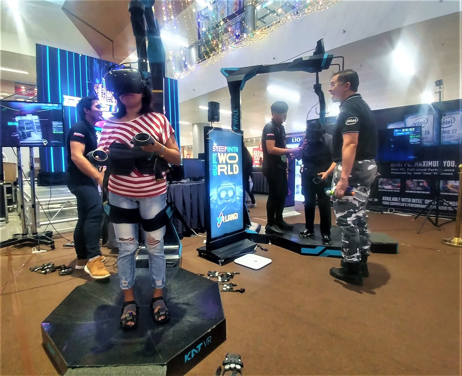 Step Into Infinity with the Kat Walk VR - Passions of a SAHM