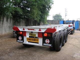 truck trailer 40 feet