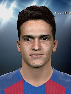 Denis Suárez PES2016 Face By DzGeNiO
