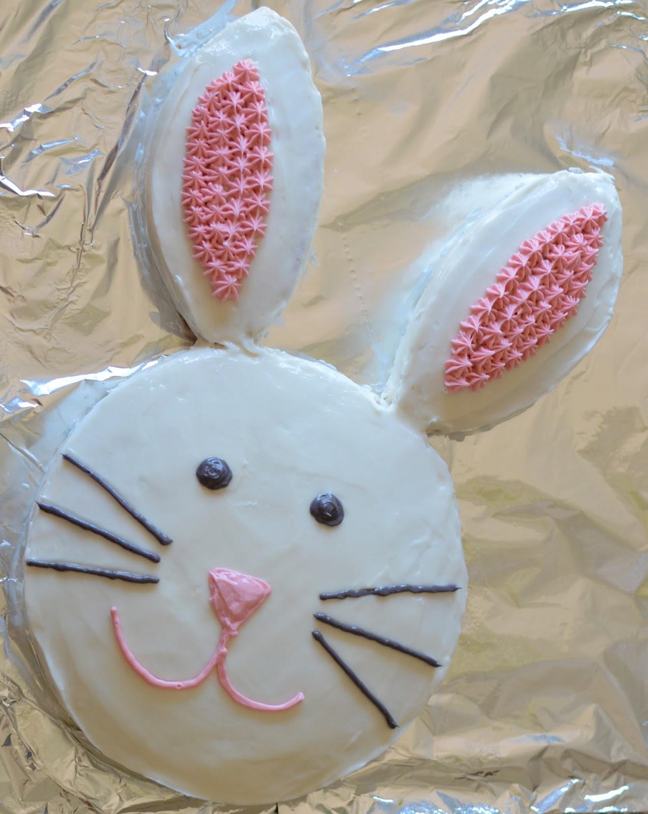rabbit cake how to make