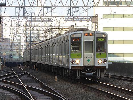 【新車導入に伴い消滅!】区間急行 調布行き 都営10-000形240F