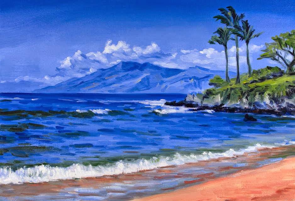 Gambar Lukisan Pemandangan Alam Yang Indah Pemandanganoce