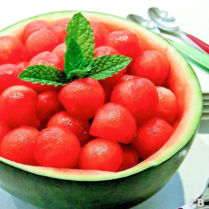 Gevulde watermeloen